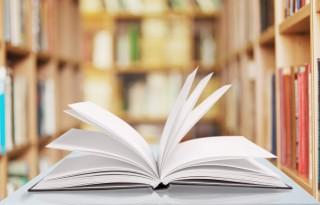 Book, open, learn.