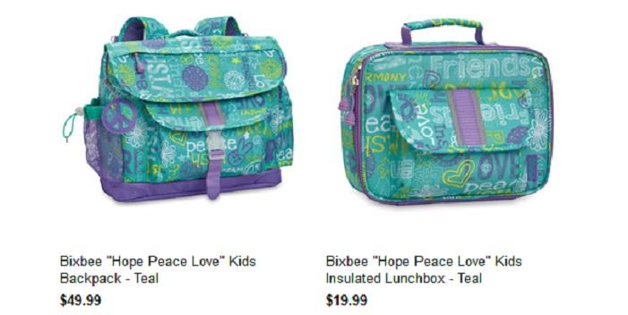 Bixbee Peace Love 2