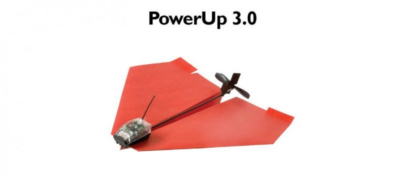 Outdoor Fun With PowerUp 3.0Smartphone-Controlled Paper Airplane