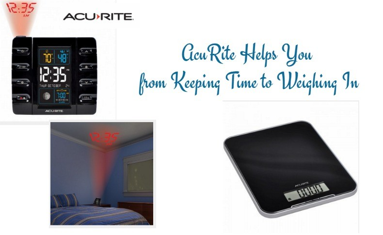 AcuRite Helps You from Keeping Time to Weighing In