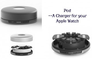 Pod Charger for Apple Watch