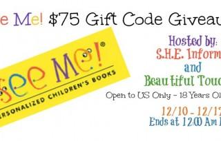 I See Me $75 Gift Code Giveaway