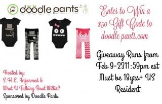 doodle pants giveaway