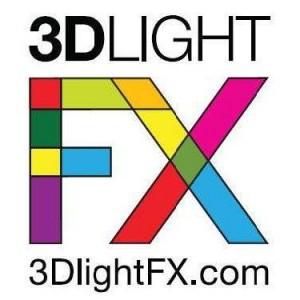 3D Light FX Logo