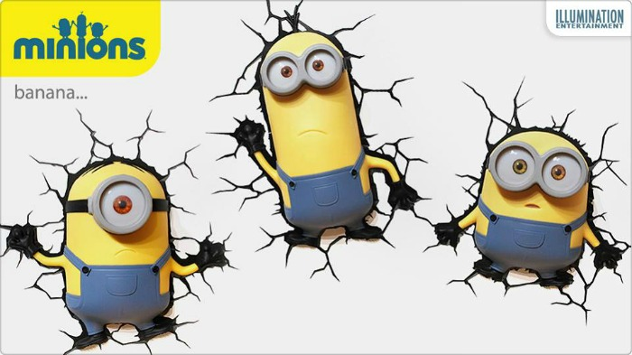 3D Light FX Deco Light Minions