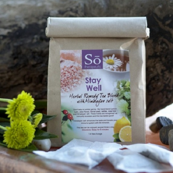 Solay Wellness Stay Well Herbal Tea