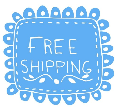 At Tee-bra Shipping is free!