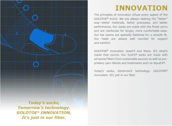 GOLDTOE Innovation