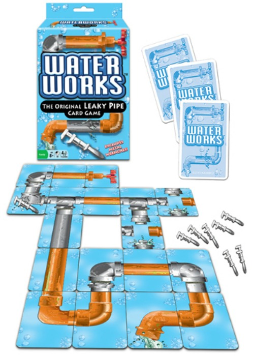 Classic Waterworks Card Game from Winning Moves Games