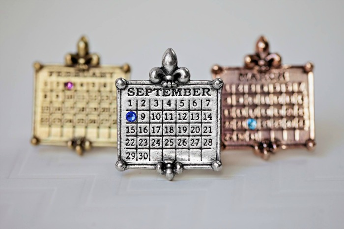 Not Just Any Old Day Calendar Jewelry