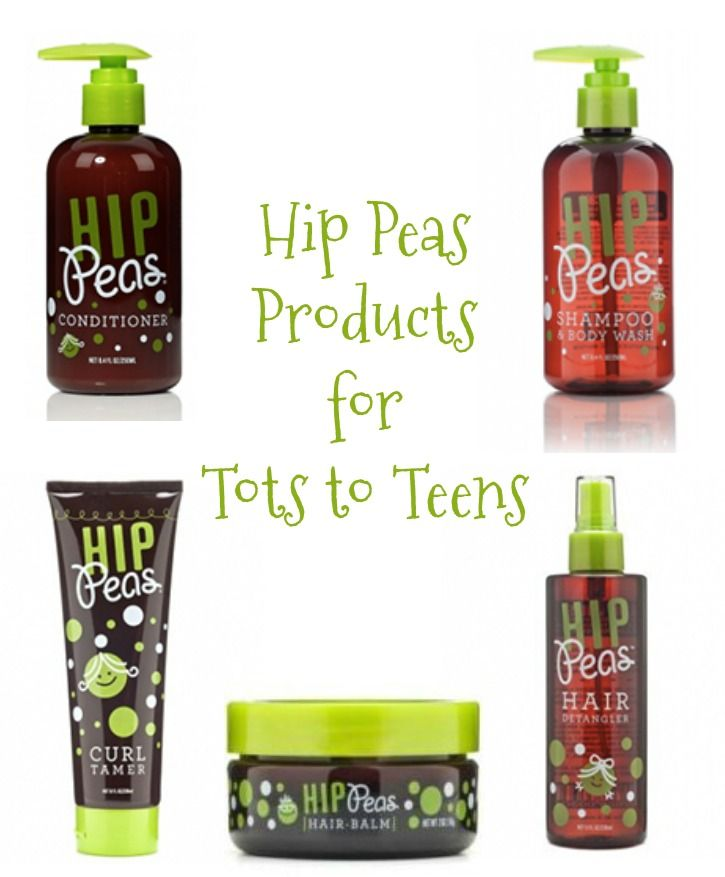 Hip Peas Products for Tots to Teens