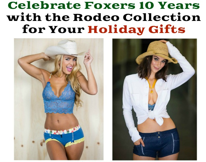 Celebrate Foxers 10 Years with the Rodeo Collection for Your Holiday Gifts