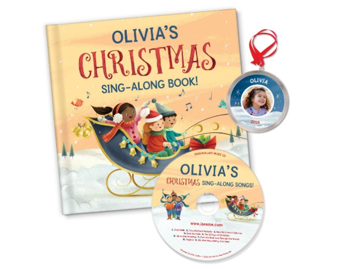 My Christmas Sing-Along Book & Songs from I SEE ME