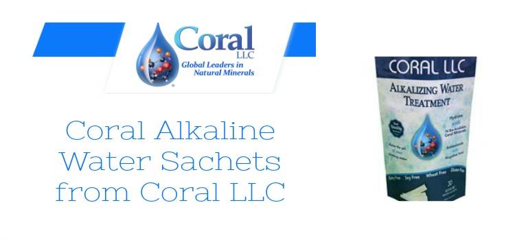 Coral Alkaline Water Sachets