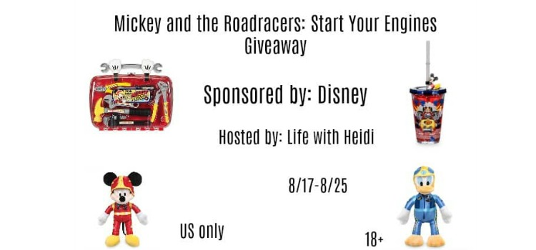 Mickey and the Roadster Racers: Start Your Engines Giveaway