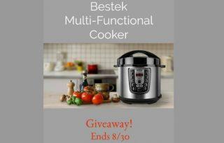 Bestek Multi Functional Cooker Giveaway (ends 8/30 11:59pm est)