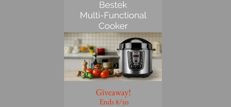 Bestek Multi Functional Cooker Giveaway (ends 8/30 11:59pm est)